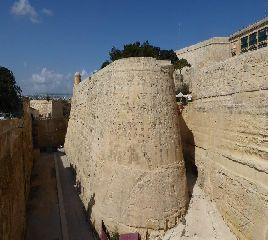 La Valletta - i bastioni