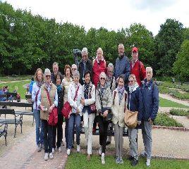 Gruppo nel parco di Varsavia