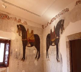 Venafro Castello Pandone I cavalli
