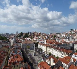 Lisbona - piazza Rossio